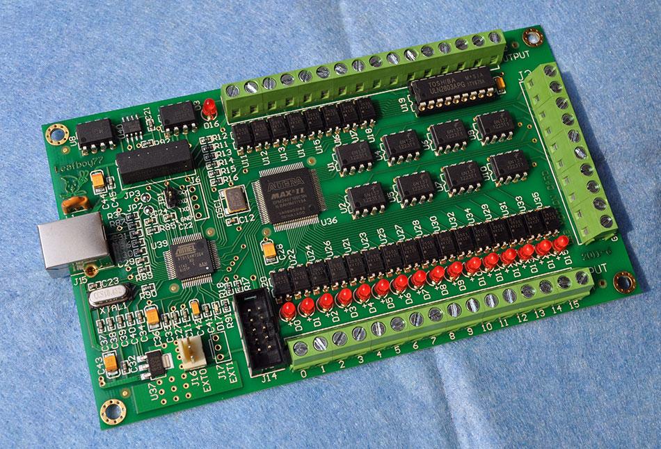 Mach3 Usb Motion Board Akz250 English Leafboy77